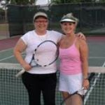 HOU BW Singles 3.5 - Liane Soukup and Margaret Ceconi (finalists) 2