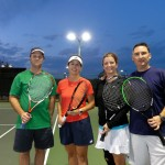 HOU Mixed Doubles - 3.0 - Adam Stanford & Wendy Cain (Finalist), Mary and Jason Simmons (Champions)