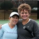 ATL Weekday Women's Doubles - 3.0 - Laurie Velandia & Kari Pate (finalist)