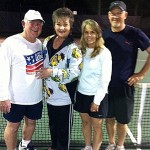 HOU Mixed Doubles - 3.5 - Les Griffith & Karla Griffith (finalists) Dianne Harris & Patrick King (champions)