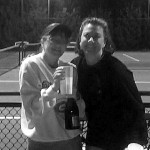 ATL Business Women's Doubles 3.0 - Melanie Oakes & Christine Bellin (champs)