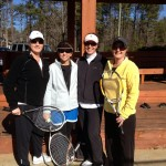 ATL Weekday Women's Doubles 2.5 - Tracey Vaughan & Mandy Garber (champs), Susan Keesee & Rebecca Mazzone (finalists)