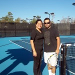 HOU Mixed Doubles 4.0+ - Veronica Velez & Carlos Caban