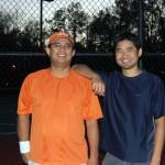 HOU Men's Doubles - 4.0 - Bogi Jaranilla & Ernest Wang (Champions)