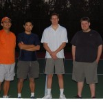 HOU Men's Doubles - 4.0 - Bogie Jaranilla & Ernest Wang (Champions), Jason Pfister & Brett Simpson (Finalist)