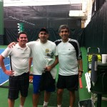 HOU Men's Doubles - 4.5 -Lucho Vizcardo & Michael Weinstein (Champions), Danny DaGian & Peter Morgan [not pictured] (finalist)