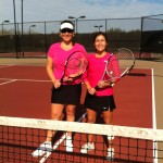 HOU Business Women's Doubles - 4.0 - Fonda Gorridge & Elizabeth Chant (Champions)