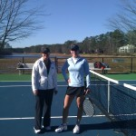 ATL Business Women's Singles 3.5 - Melinda Weems (finalist) & Julie Jenkins (champ)