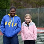 Junior Girls - 14U B - Alexis Trammell (Champion) & Anna Michael (Finalist)