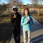 Junior Girls - 11U C -- Kendra Womack (Champion) & Gracie Huffman (Finalist)