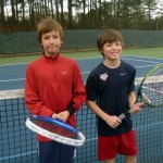 Junior Boys - 11U B - Luc Racheneur (Champion) & Cole Laflamme (Finalist)