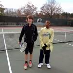 Junior Boys - 14 U B - Davis Taylor (finalist) & Roosevelt Trammell (Champion)