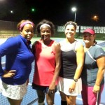 ATL Business Women's Doubles - 4.0 - Bethany Cherry & Sharon Sims (Finalist), Susan Sheppard & Marielba Ahmed (Champion)