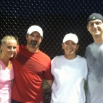 ATL Mixed Doubles - 3.0 - Catherine Bell & John Evans (Champions), Laurie Wright & David Wright (Finalist)