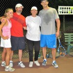 ATL Mixed Doubles - 3.0 - Catherine Bell & John Evans (champs), Laurie wright & David Wright (finalists)