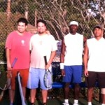 HOU Men's Doubles - 3.5 - Clay Clements & Chris Clements (Champions), Dedric Walker & Harold Runnels (Finalist)