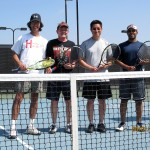 DAL Men's Doubles - 4.5 - Don Wires & Tim Edwards (Champions), Johnny Oh & Raibu Chacko (Finalist)
