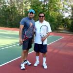 HOU Men's Singles - 3.5 - Girish Prabhu (finalist) & Alfonso Hernandez (champ)