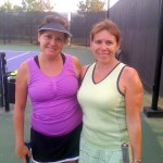 HOU Weekday Women's Doubles - 3.5 - Julia Holder & Hilary Leigh (finalists)
