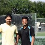 HOU Men's Doubles -- 4.0 -- Vijay Chitiyala & Ajai Hari (Champion)