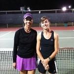 DAL Business Women's Singles - 3.5 - Charlene Solis (Finalist ) & Marina Gelling (Champion)