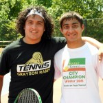 Junior Boys - 17u B - Bernard Castillo (champ) & Kandarp Shah (finalist)