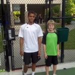 Junior Boys -- 14 U B -- Roland Blanding IV (Finalist) & Connor Galloway (Champion)