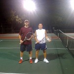 HOU Men' s Singles - 4.5, Group 1 - Dennis Welch (Finalist) & Dang Huynh (Champion)