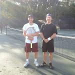 JAX Men's Singles - 5.0 - Emmanuel Dujarric (Finalist) & Jerry Matteo (Champions)