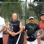 HOU Men's Doubles - 3.5 - Jerry Brown & Carlos Ortiz (Champions), Vijay Atri & Dan Ponce (Finalist)