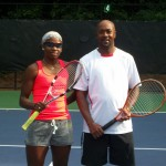 ATL Mixed Doubles - 4.5 - Rhonda Harris & William Spooney (Finalist)