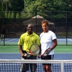 ATL Mixed Doubles - 4.5 (Group 1) - Valerie Schuler & Sam Oyortey (Champions)