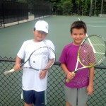 Junior Boys -- 11u B, Group 1 -- Doowon Kim (Champion) & Michael Kozyrev (Finalist)