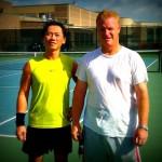 HOU Men's Singles 4.5 - Dzung Nguyen (champ) & Todd Wiggs (finalist)
