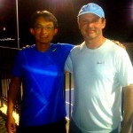 AUS Men's Singles - 4.0 - James Ong (finalist) & Jonathan Greenberg (champ)