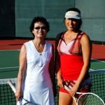 SND BW Singles 3.5 - Katherine Lam (champ) & Janice Kirstein ( finalist)