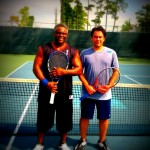 HOU Men's Singles 4.0 - Keith Walker (champ) & Carlos de Anda (finalist)