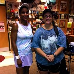 DAL BW Singles 3.5 - Tracey Mitchell (champ) & Rebekah Hahn (finalist)