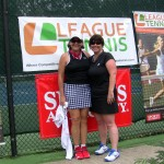 ATL Women's Doubles 4.0 - Peggy Estes & Renee Dingle (finalists)
