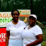 ATL Women's Doubles 3.5 - Josephine Alexander & Una Richards (finalists)