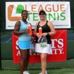 ATL Women's Doubles 4.5 - Yolanda King & Ann Newman (finalists)
