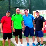 ATL Men's Doubles 2.5 - David Fortner & Rogel Zamora (finalists) & Charles (Chuck) McDowell & David Lane (champs)