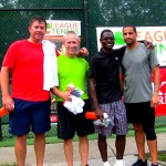 ATL Men's Doubles 3.5 - Kirk Kirkpatrick & Cliff Ramos (champs) & Bryant Blue & Stacy Goodwin (finalists)