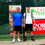 ATL Men's Doubles 4.0 - Charles Moses & Tyler Aiola (finalists)