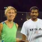 HOU Mixed Doubles 3.5 - Joni Scheller & Jaianand Jayaraman (champs)