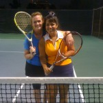 HOU Weekday Women's Doubles 3.5 - Maggie Murray and Sandra Webb (finalists)