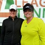 ATL Weekday Women's Singles 3.5 - Brenda Maddaleni (champ) & Curry Hatzilias (finalist)