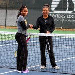 Girl's Singles - 14u C - Tay'lor Champion (champ) & Daelyn Turner (finalist)