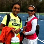 Girl's Singles - 14u B - Group 2 - Victoria Smith (champ) & Chloe Brown (finalist)