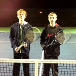 Boy's Singles - 14u C - Group 1 - Nick Porcelli (finalist) & Duncan McGilvray (champ)